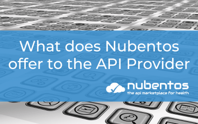 What does Nubentos offer to the API Provider?