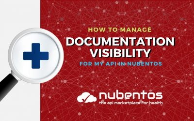 How to manage documentation visibility for my API in Nubentos